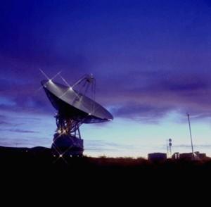 70-m Bodenstation des Deep Space Networks in Goldstone, Kalifornien Quelle: NASA