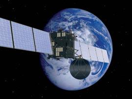 Rosetta's Earth-Flyby Quelle: ESA